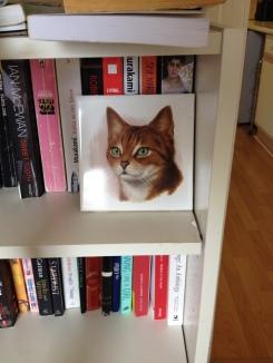 A cat tile!
