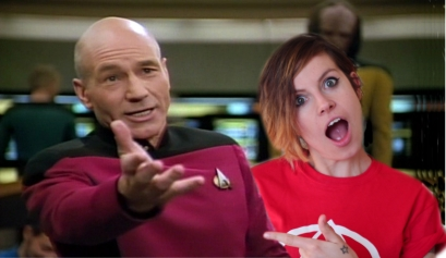 Jean Luc Picard at me